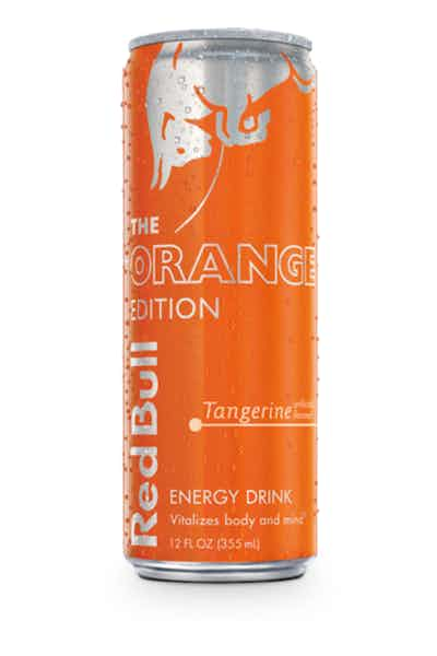 Red Bull Orange Edition: Tangerine