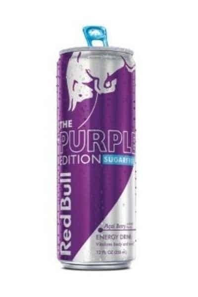 Red Bull Sugar Free Purple Edition
