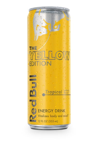 Red Bull Yellow Edition | Tropical Fruit