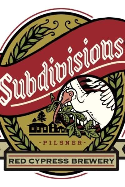 Red Cypress Subdivisions Pilsner