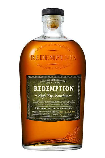 Redemption Straight High-Rye Bourbon