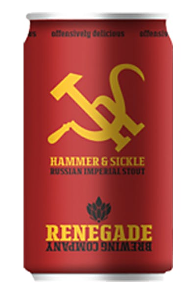 Renegade Hammer and Sickle Imperial Stout