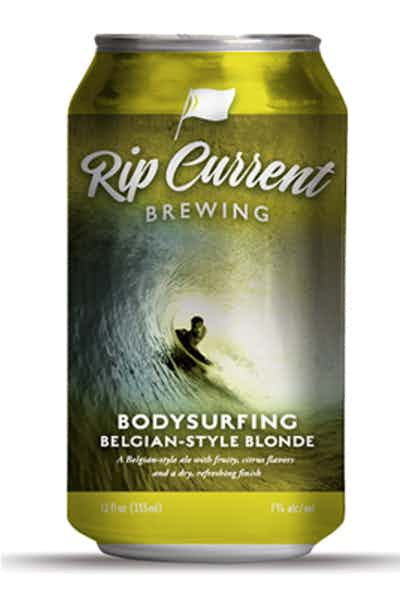 Rip Current Body Surfing Belgian Blonde