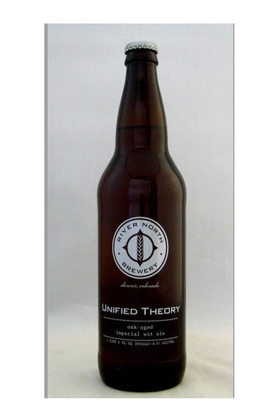 River North Unified Theory Oak Aged Imperial Wit