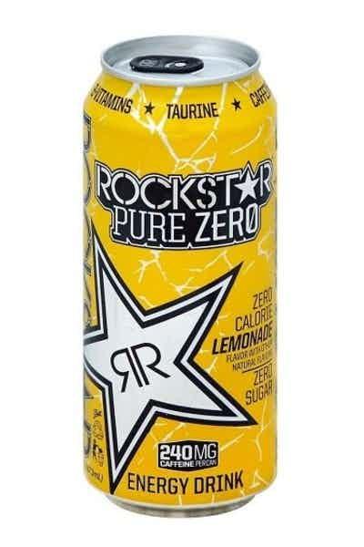 Rockstar Pure Zero Lemonade