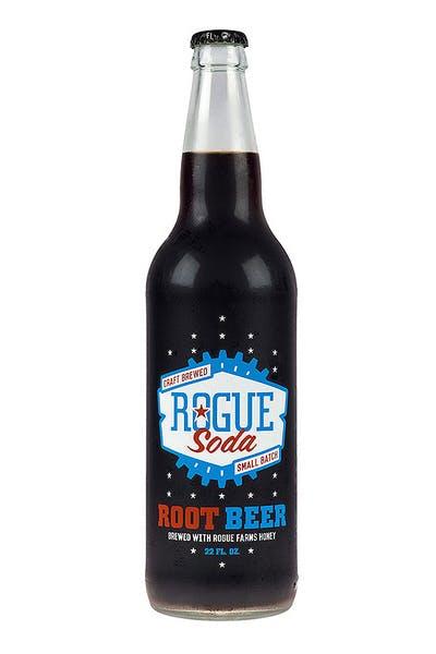 Rogue Root Beer Soda