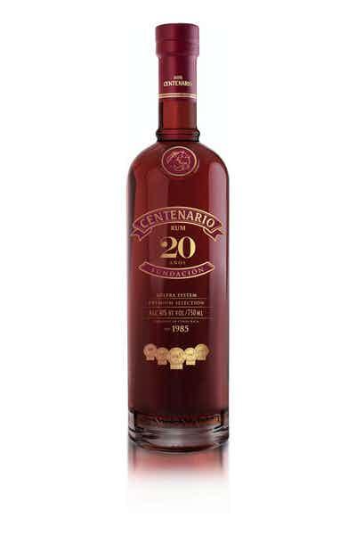 Ron Centenario 20 year Fundacion Rum