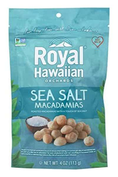 Royal Hawaiian Sea Salt Macadamia Nuts