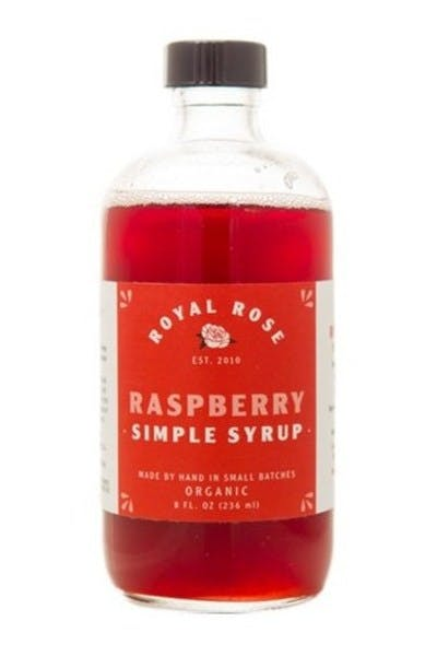 Royal Rose Raspberry Simple Syrup