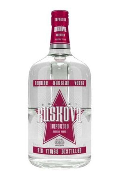 Ruskova Russian Vodka 48