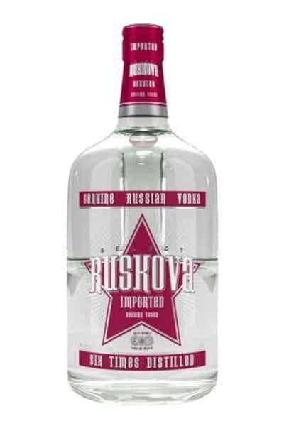 Ruskova Russian Vodka 48