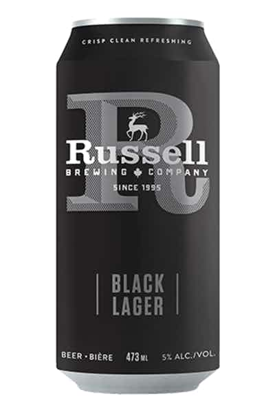 Russell Black Lager