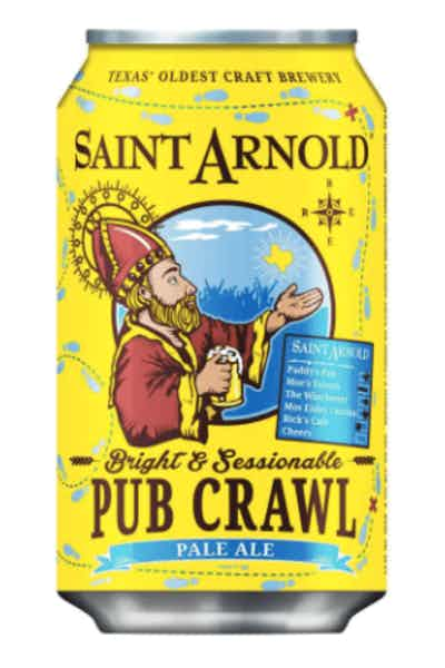 Saint Arnold Pub Crawl