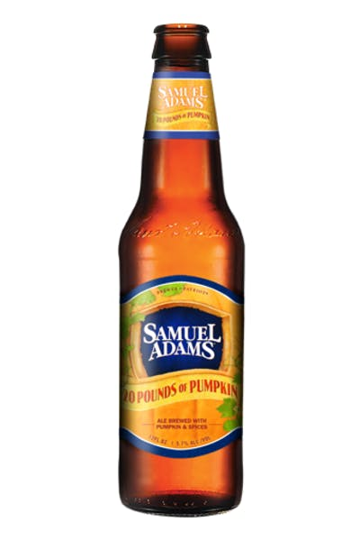 Samuel Adams 20 Pounds of Pumpkin Ale