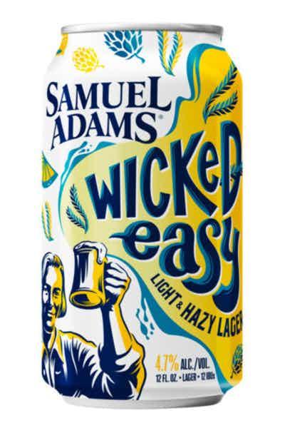 Samuel Adams Wicked Easy Light & Hazy Lager