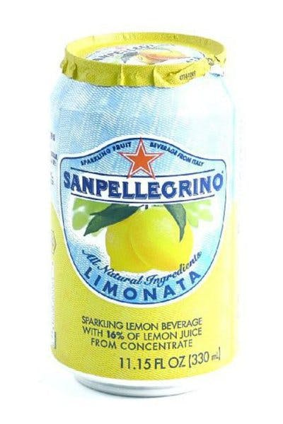 San Pelligrino Soda Can