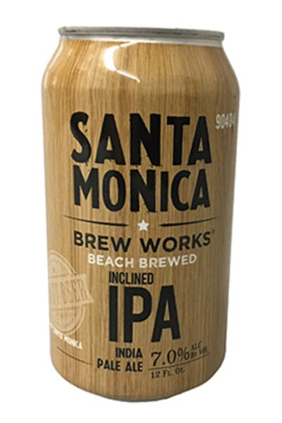 Santa Monica Brew Works Inclined IPA