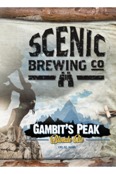 Scenic Brewing Gambits Peak Blonde Ale