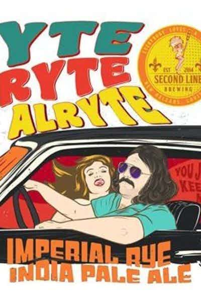 Second Line Brewing Alryte Alryte Alryte Imperial Rye IPA
