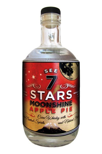 See Seven Stars Apple Pie Moonshine