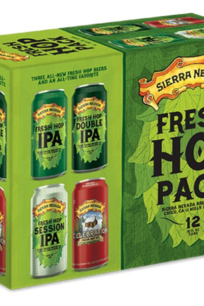 Sierra Nevada Fresh Hop Variety Pack