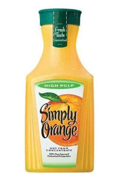 Simply High Pulp Orange Juice