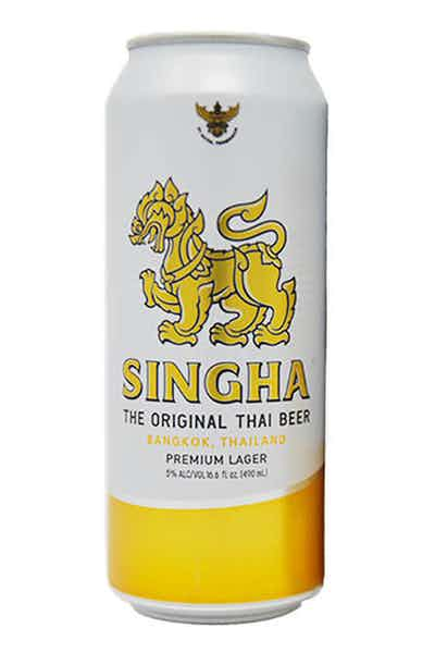 Singha Tall Cans Thailand Lager