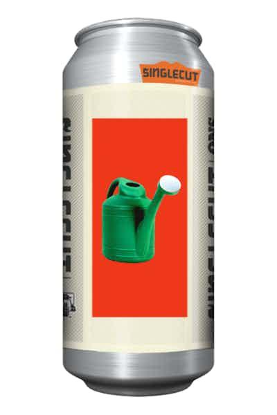 SingleCut Green Plastic Watering Can