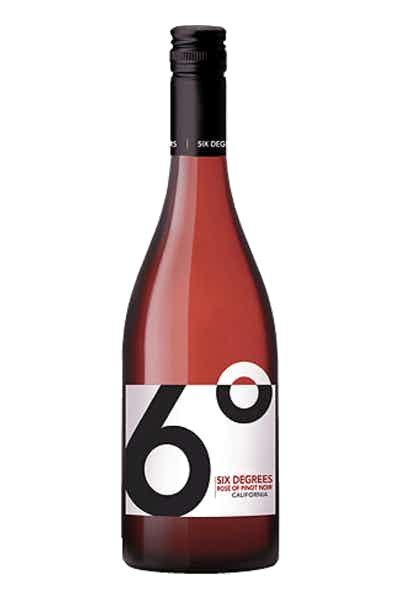 Six Degrees California Rosé of Pinot Noir