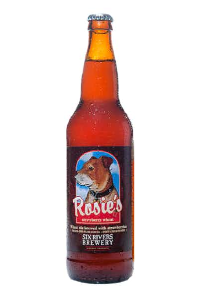 Six Rivers Rosie's Strawberry Wheat