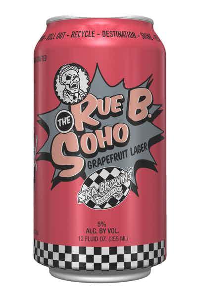 Ska Brewing Rue B. Soho Grapefruit Lager