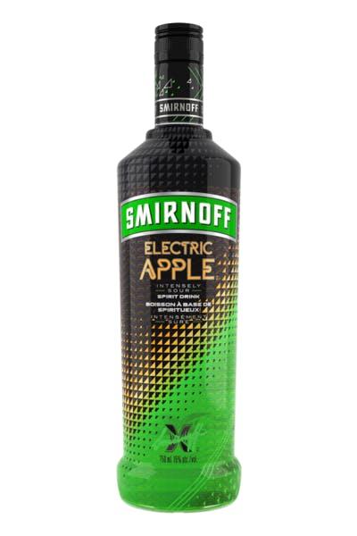 Smirnoff Electric Apple Vodka [Discontinued]