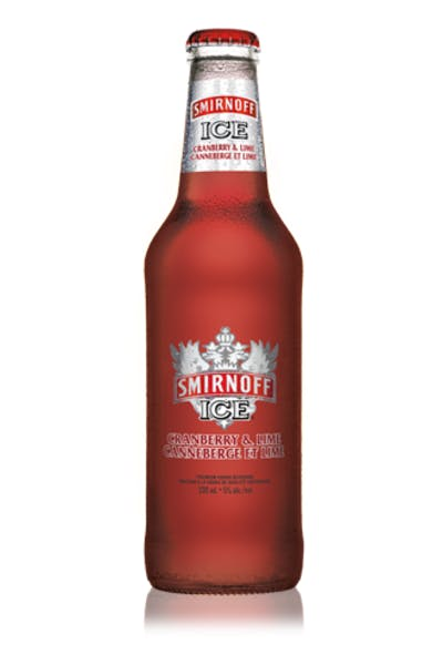 Smirnoff Ice Cranberry & Lime