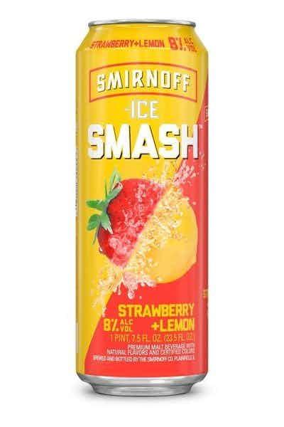 Smirnoff Ice Smash Strawberry Lemon