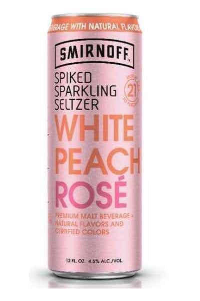 Smirnoff Seltzer White Peach Rosé