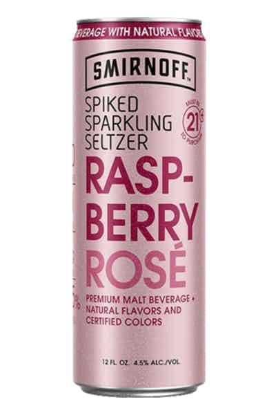 Smirnoff Seltzer Raspberry Rosé