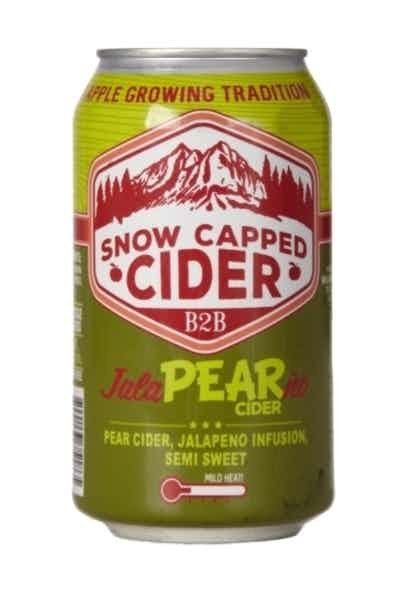 Snow Capped Jalapearno Cider