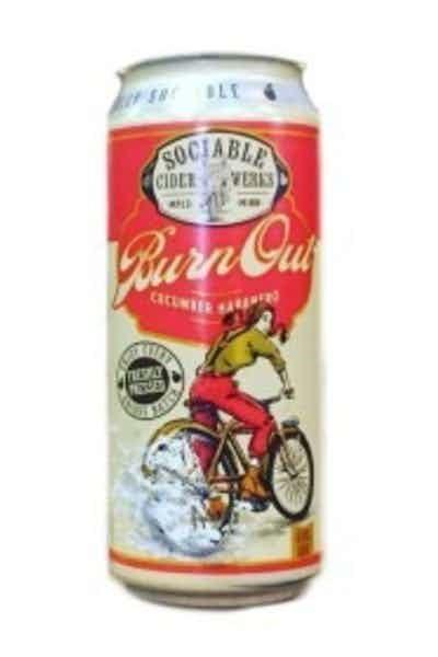 Sociable Cider Werks Burn Out