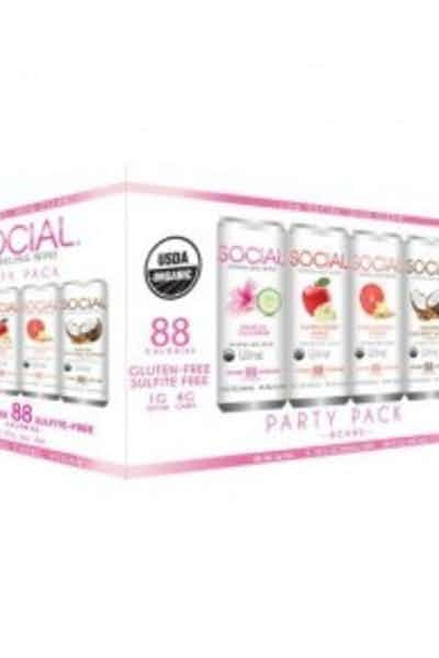 Social Sparkling Wine Variety Pack