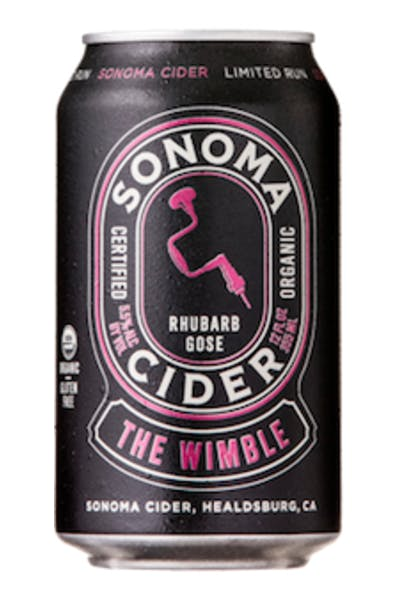 Sonoma Cider The Wimble Rhubarb Gose