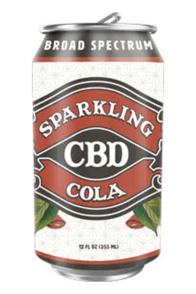 Sparkling CBD Cola