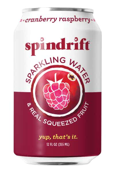 Spindrift Cranberry Raspberry Sparkling Water