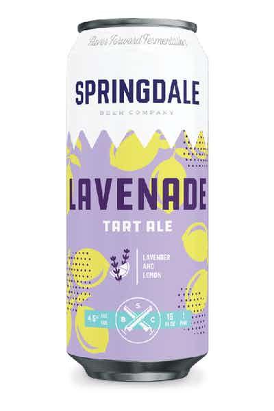 Springdale Lavenade Tart Ale