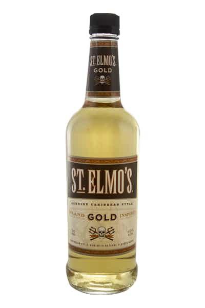St Elmo Rum Gold