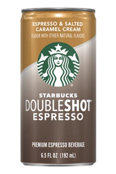Starbucks Doubleshot Espresso Salted Caramel Cream