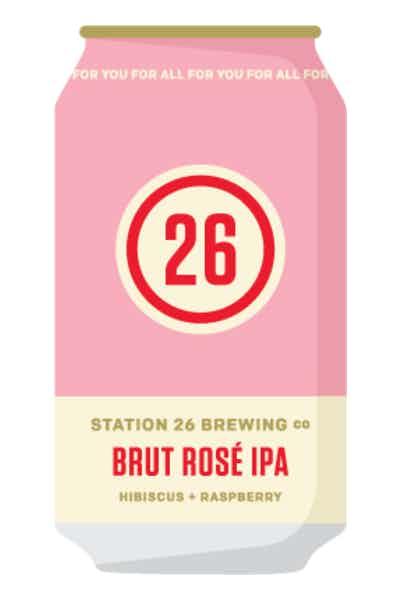 Station 26 Brut Rose IPA