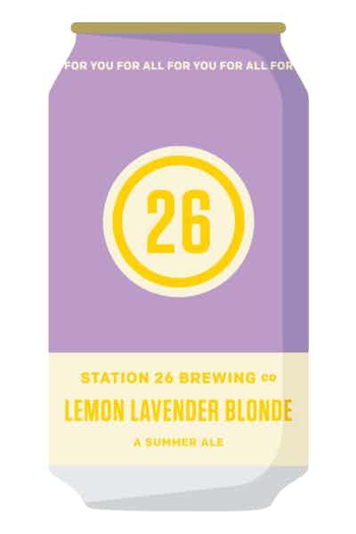 Station 26 Lemon Lavender Blonde Ale