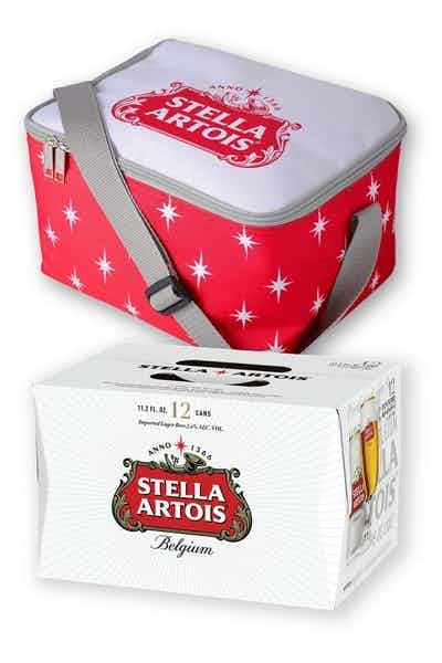 Stella Artois 12-Pack Can with Cooler Bag