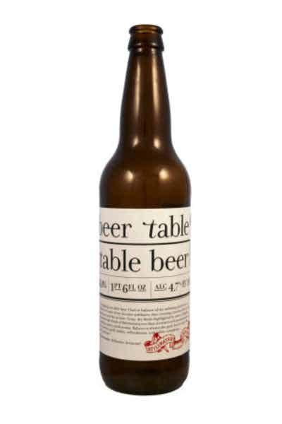Stillwater Beer Table Table Beer