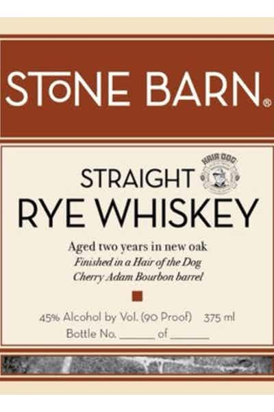 Stone Barn Cherry Adam Straight Rye Whiskey